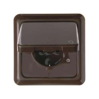 berker 471801 schuko steckdose mit klappdeckel und rahmen. Black Bedroom Furniture Sets. Home Design Ideas