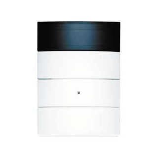berker 75663599 tastsensor 3fach mit raumtemperaturregler und display. Black Bedroom Furniture Sets. Home Design Ideas