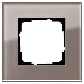 gira 0211122 abdeckrahmen 1f gira esprit g umbra 20 10. Black Bedroom Furniture Sets. Home Design Ideas