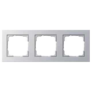 gira 021325 abdeckrahmen 3f gira e2 farbe alu 13 30. Black Bedroom Furniture Sets. Home Design Ideas