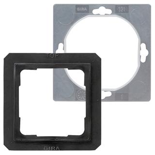 gira 025227 set ip44 steckdose klappdeckel standard 55. Black Bedroom Furniture Sets. Home Design Ideas