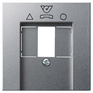 GIRA 026026 Abdeckung TDO-Anschlussdose System 55 Farbe Alu, 5,88 &eu