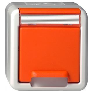 gira 044630 schuko steckdose klappdeckel or. Black Bedroom Furniture Sets. Home Design Ideas