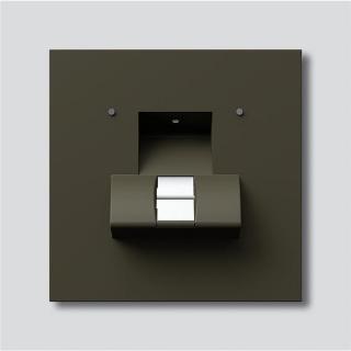 siedle fpm 611 02 gm fingerprint modul in graphitbraun metallic 864. Black Bedroom Furniture Sets. Home Design Ideas