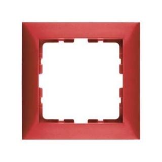 berker 10118962 rahmen berker s 1 rot gl nzend 1fach 3. Black Bedroom Furniture Sets. Home Design Ideas