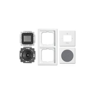 busch jaeger 8220 84 ft digital radio set 105 01. Black Bedroom Furniture Sets. Home Design Ideas