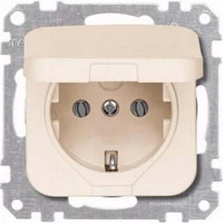 Merten System Basis Blindabdeckung cremeweiss 392074 Abdeckung Atelier M