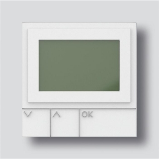 Siedle DRM 612-01 W Display-Ruf-Modul in Weiß